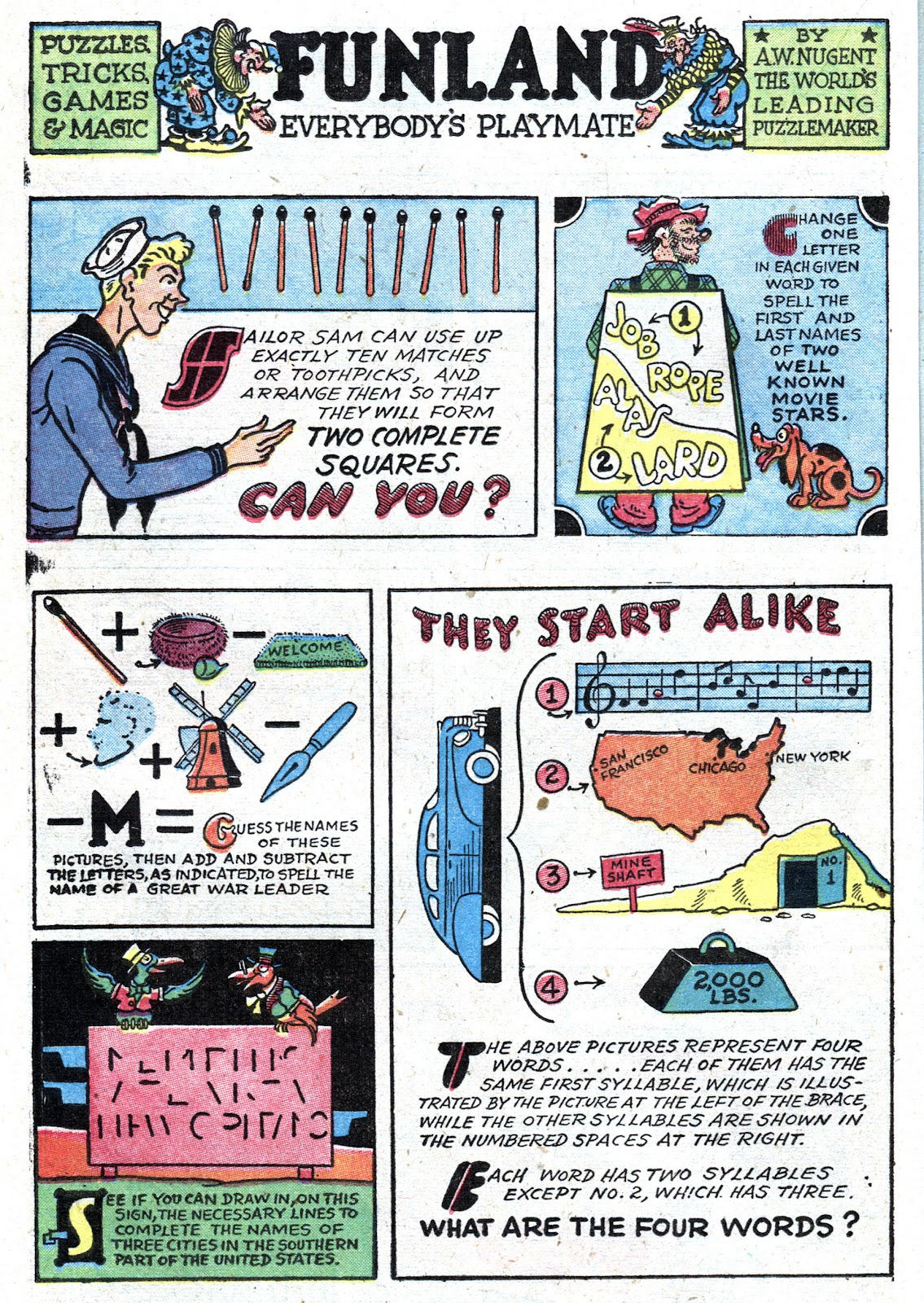 Read online Famous Funnies comic -  Issue #157 - 36