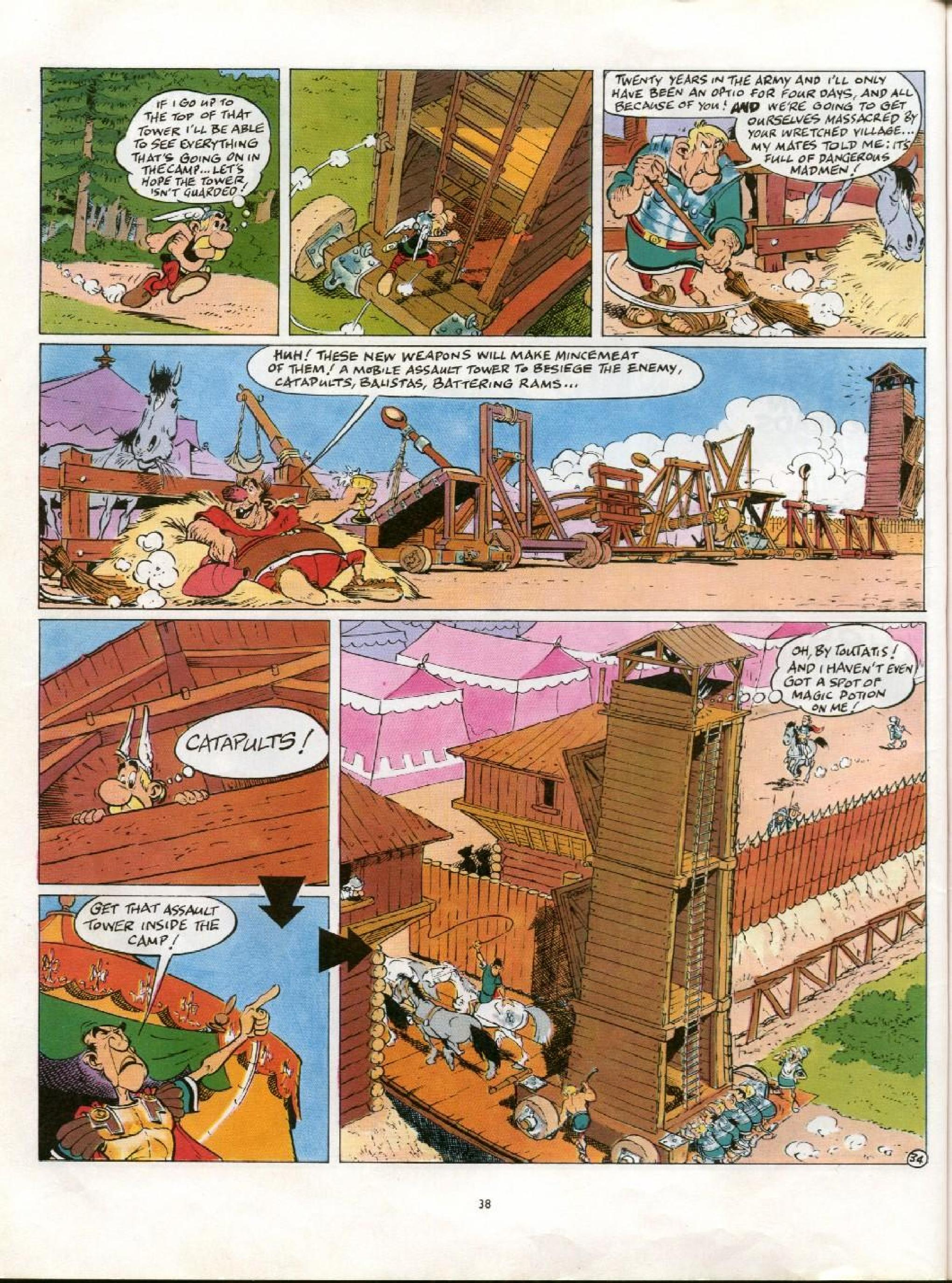 Read online Asterix comic -  Issue #21 - 35