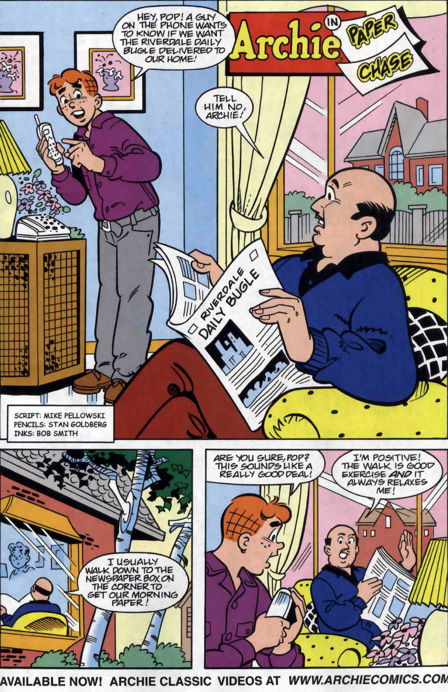 Read online Archie (1960) comic -  Issue #556 - 27