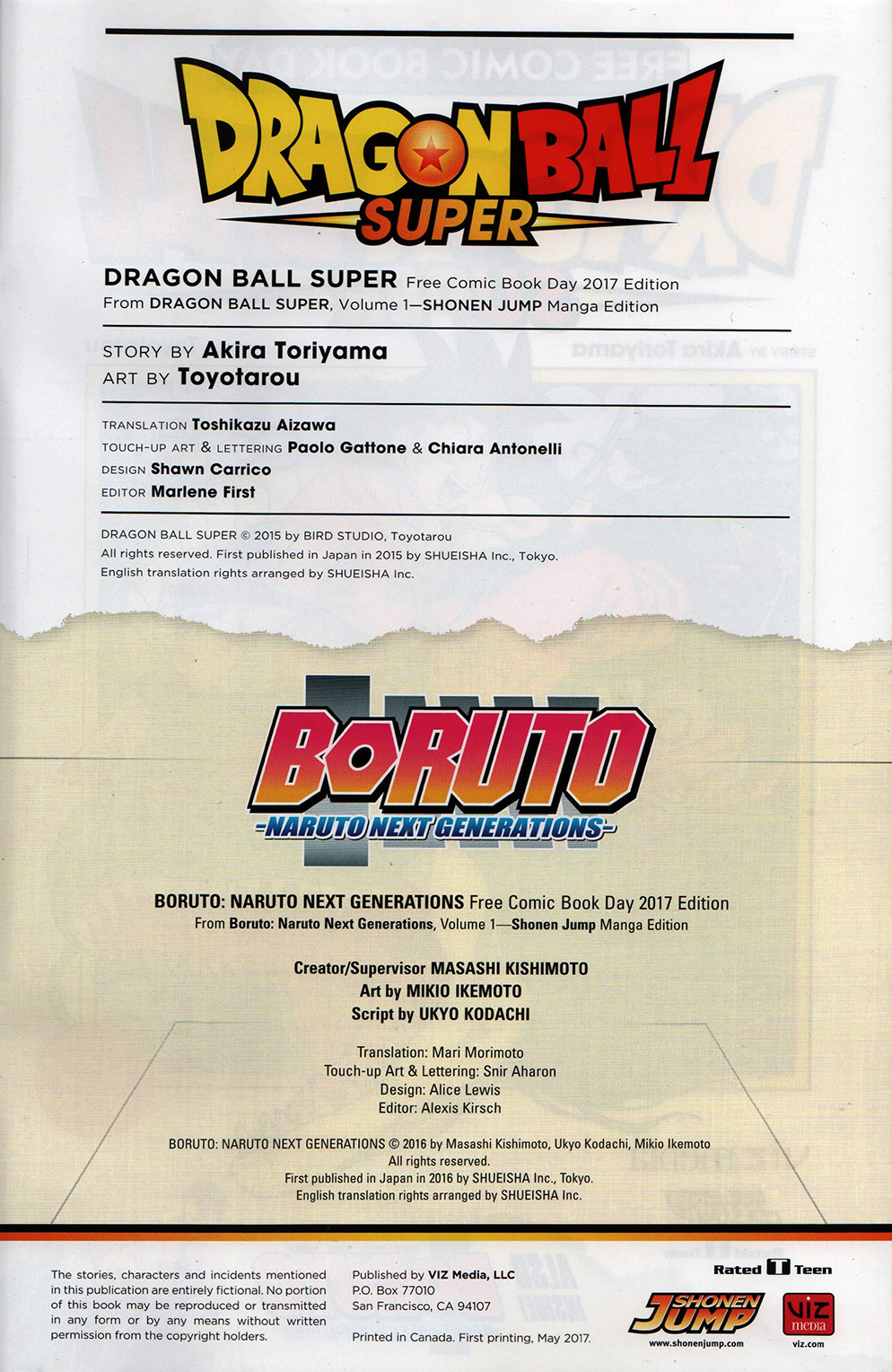 Read online Free Comic Book Day 2017 comic -  Issue # Dragon Ball Super - 3
