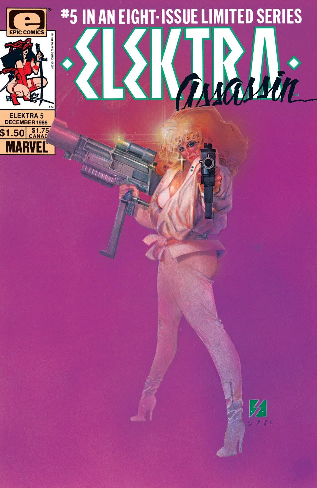 Elektra: Assassin (1986) 5 Page 1