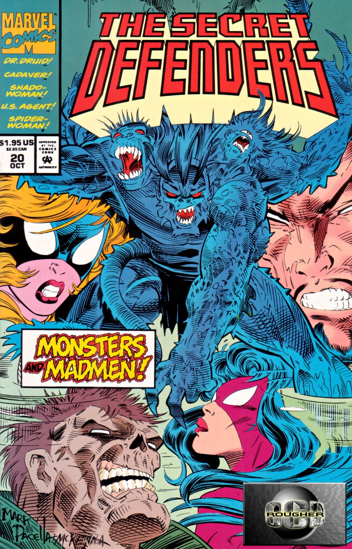 Read online Secret Defenders comic -  Issue #20 - 1