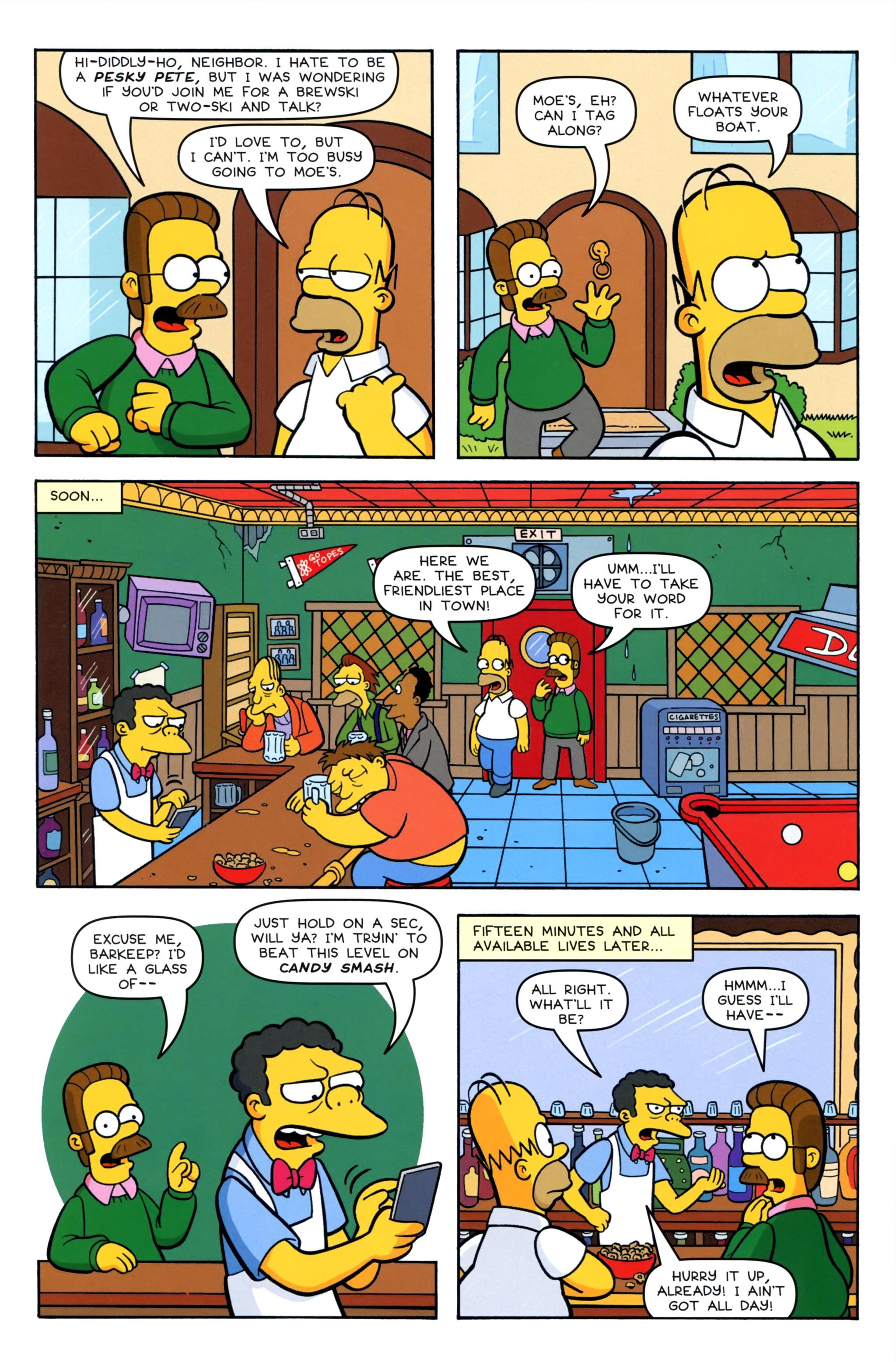 Read online Simpsons Comics comic -  Issue #220 - 5