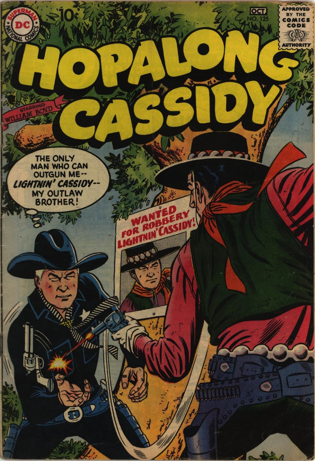Hopalong Cassidy issue 125 - Page 1