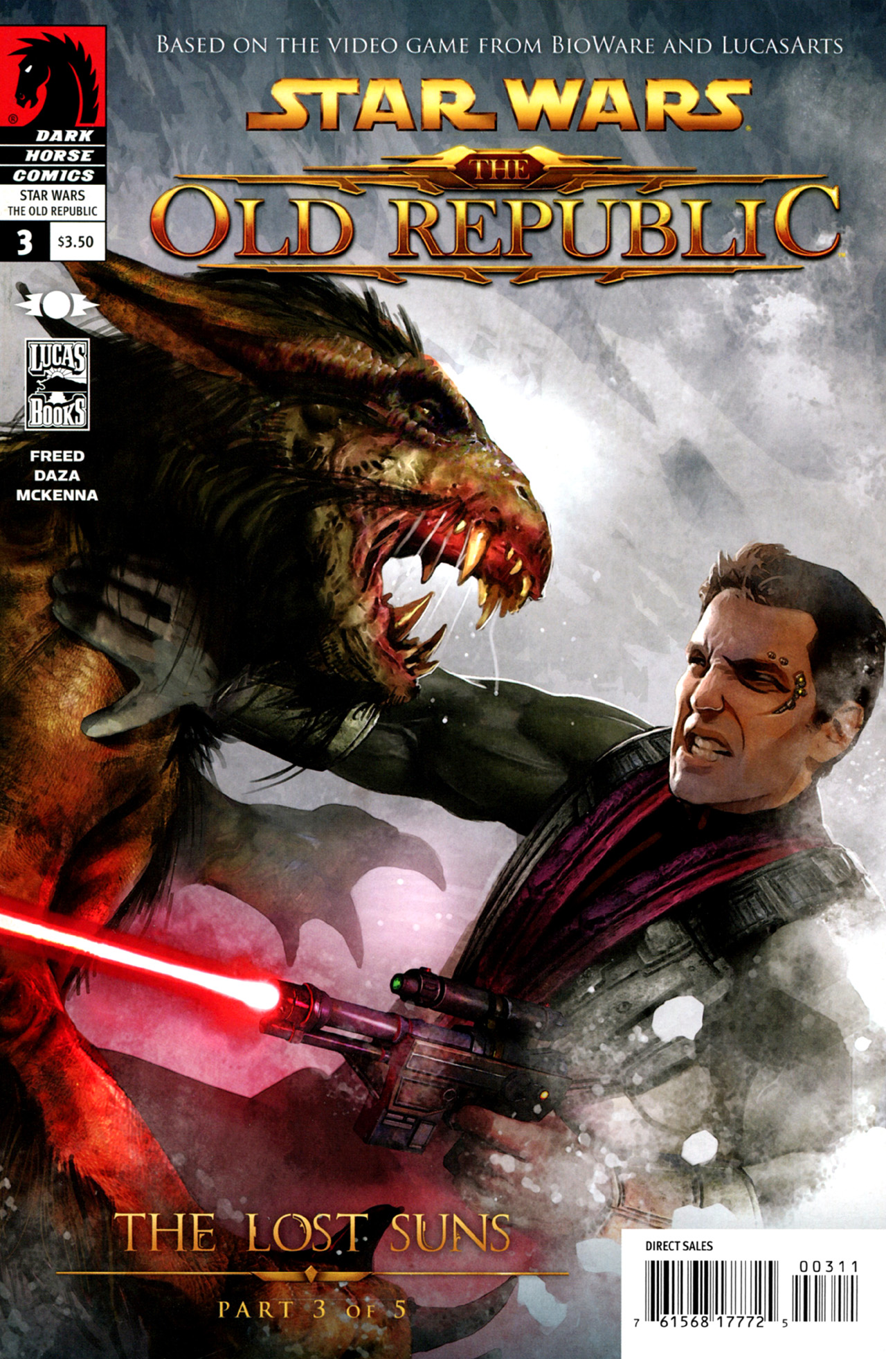 Read online Star Wars: The Old Republic - The Lost Suns comic -  Issue #3 - 1