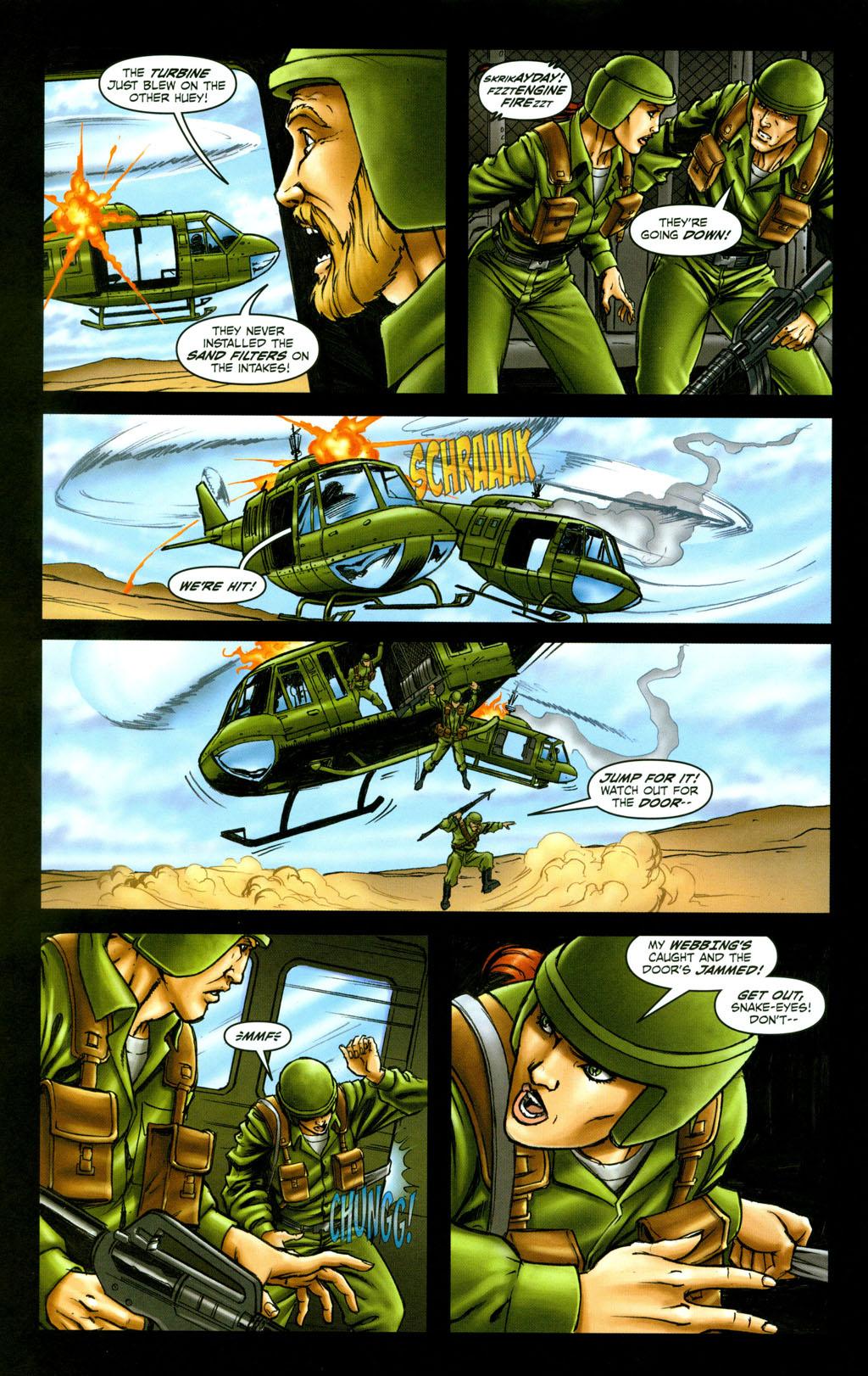 Read online Snake Eyes: Declassified comic -  Issue #6 - 12