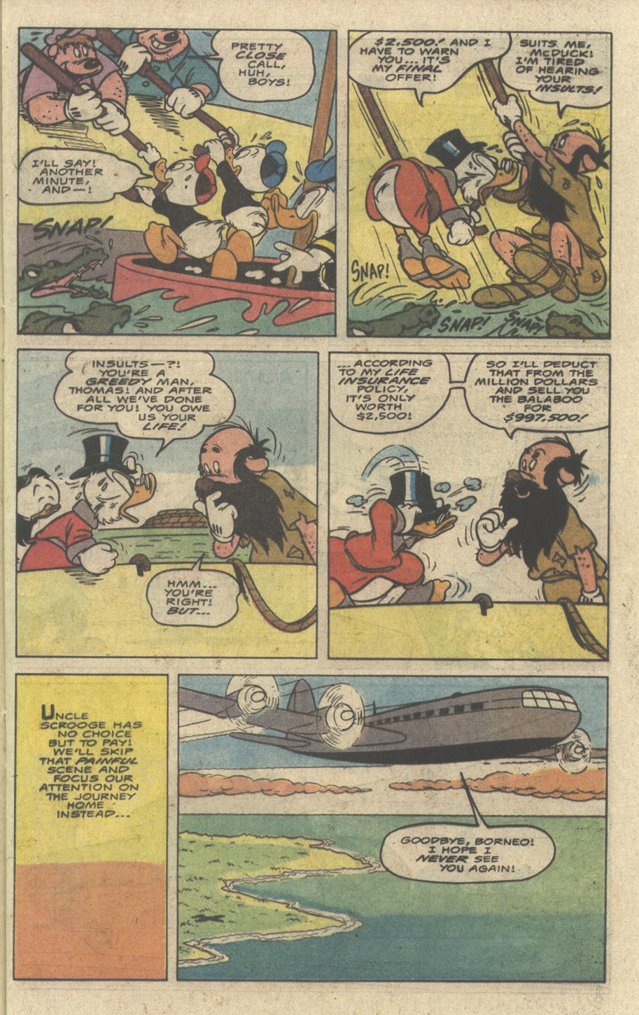 Read online Uncle Scrooge (1953) comic -  Issue #242 - 29