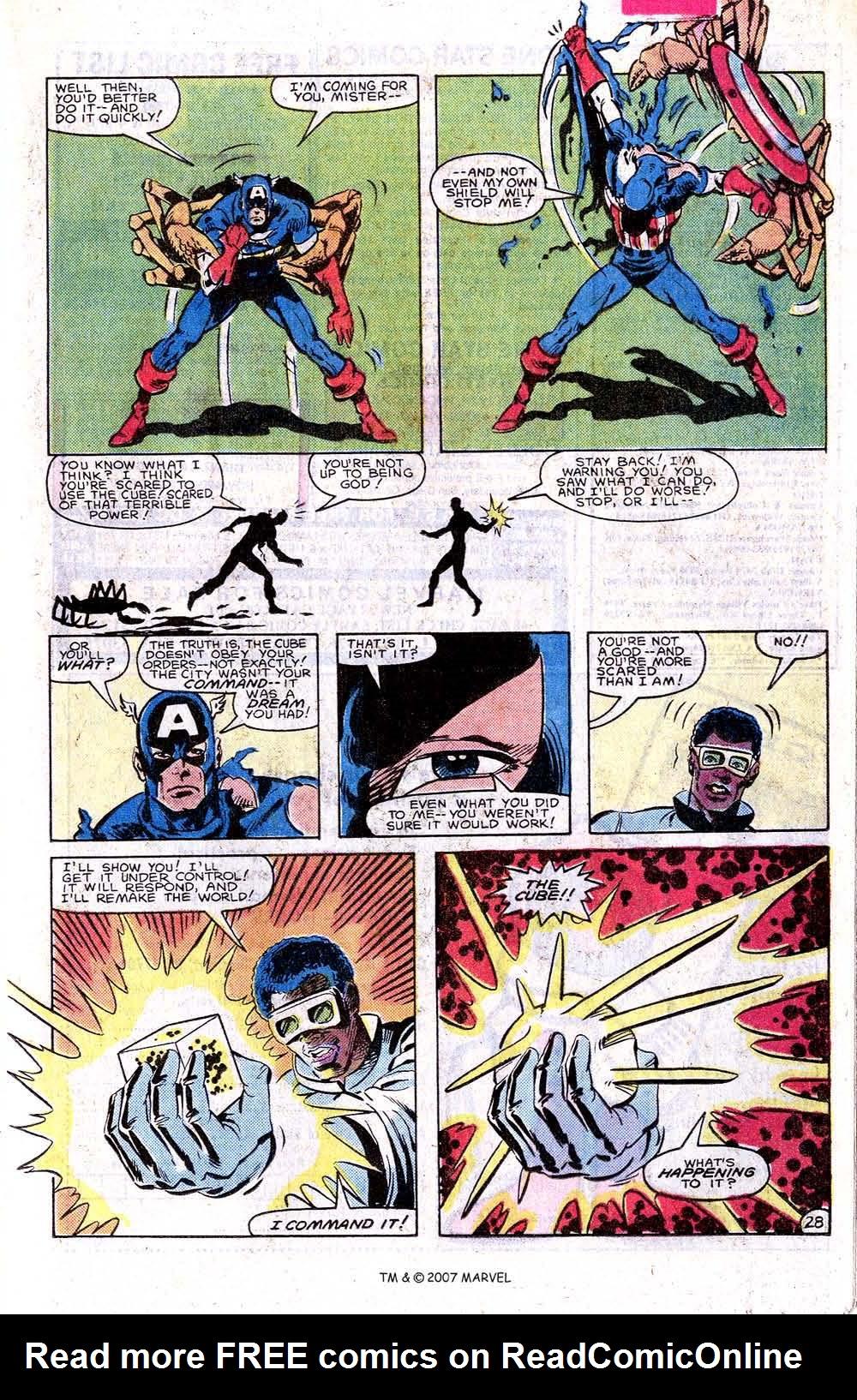 Read online Captain America (1968) comic -  Issue # _Annual 7 - 37