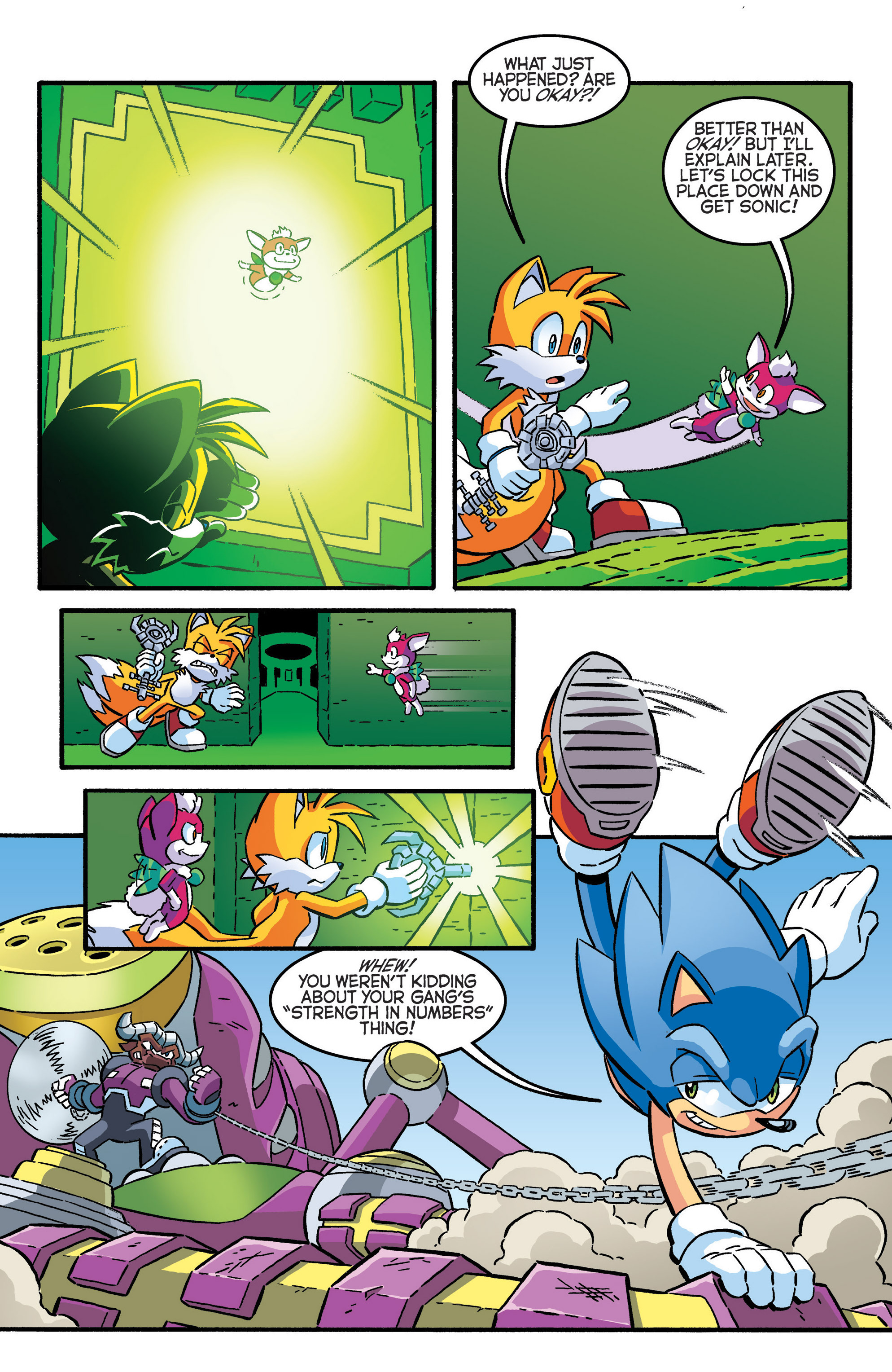 Read online Sonic The Hedgehog comic -  Issue #280 - 12