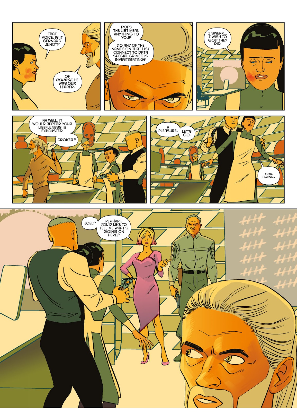 Read online Brink comic -  Issue # TPB 3 - 63