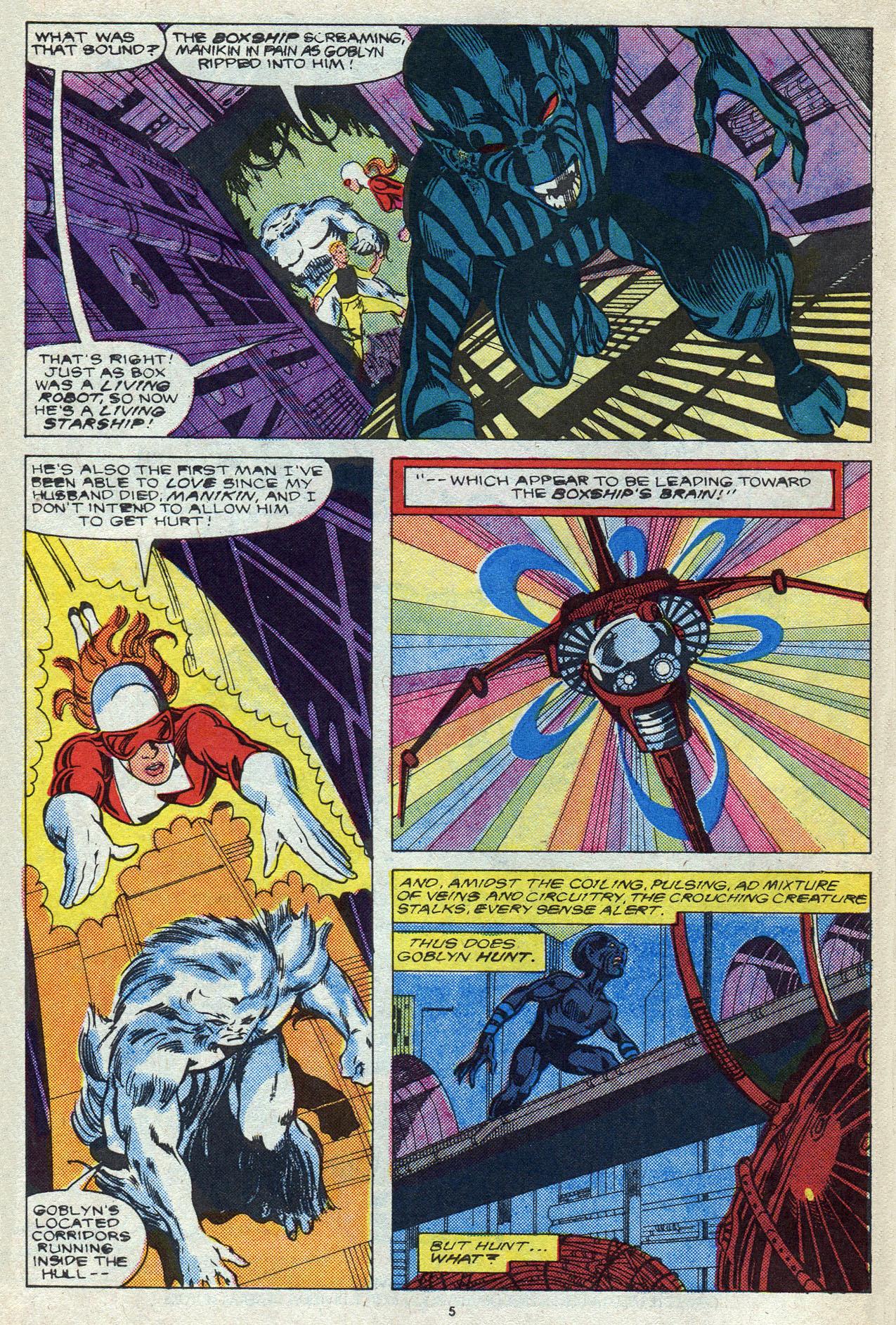 Read online Alpha Flight (1983) comic -  Issue #56 - 8