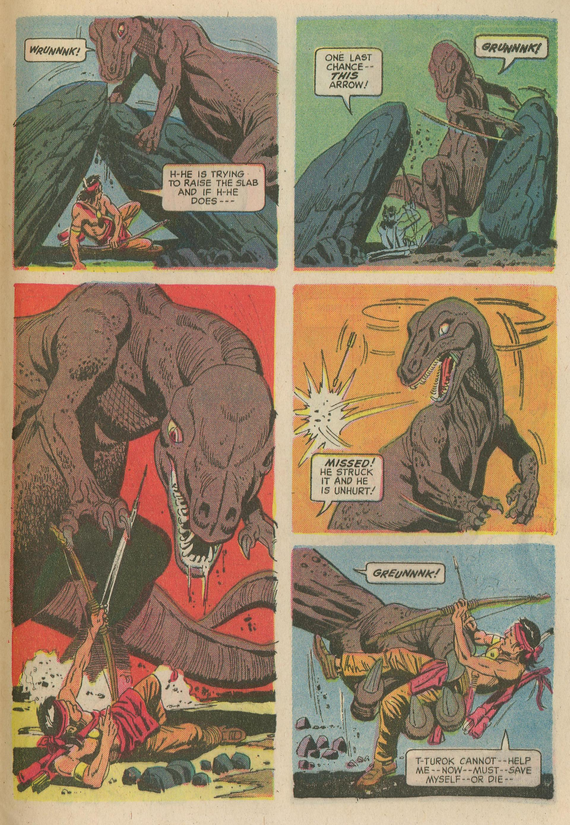 Read online Turok, Son of Stone comic -  Issue #65 - 29