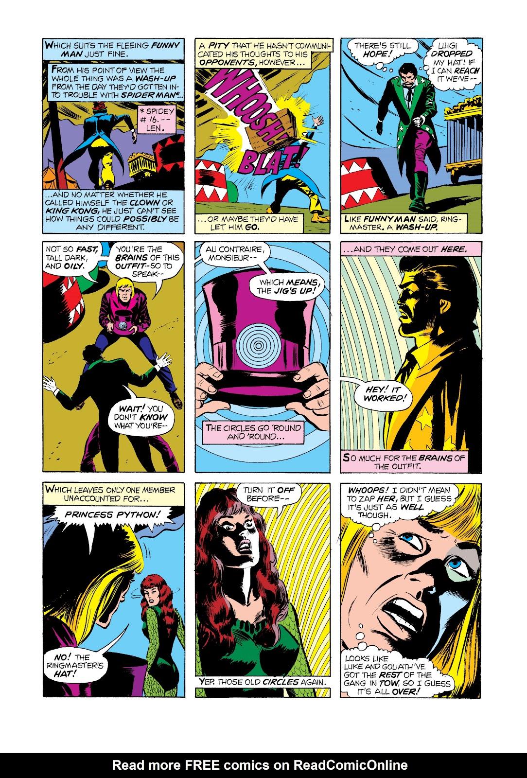 Read online Marvel Masterworks: Luke Cage, Power Man comic -  Issue # TPB 2 (Part 2) - 79
