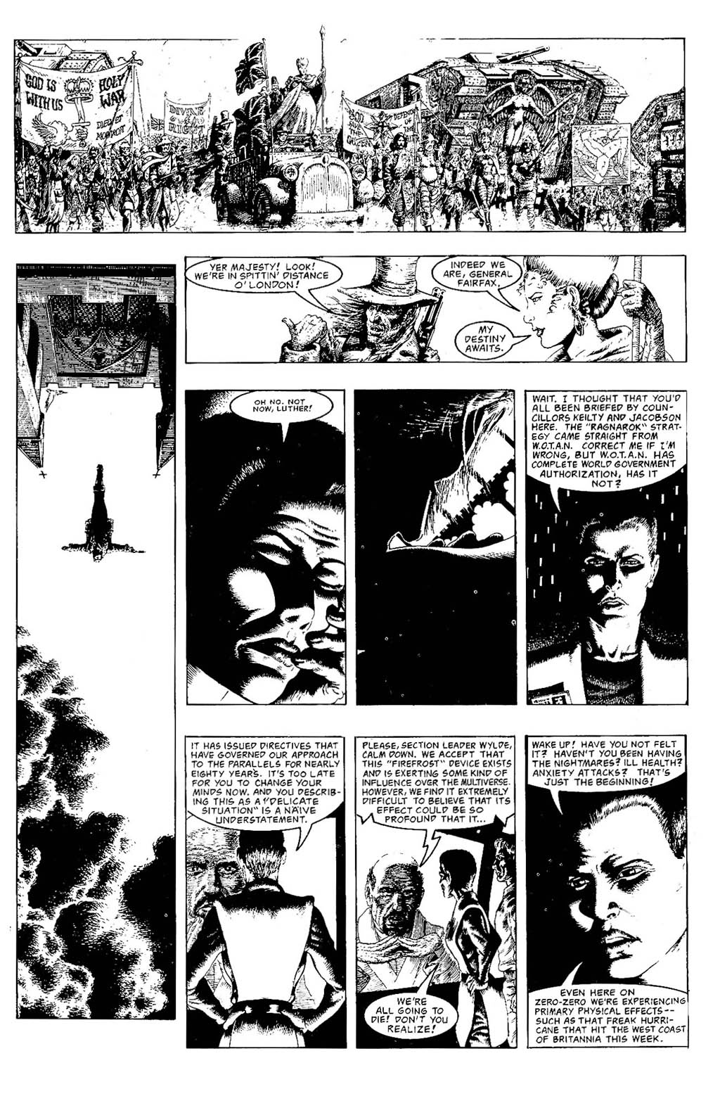 Read online The Adventures of Luther Arkwright comic -  Issue #7 - 21