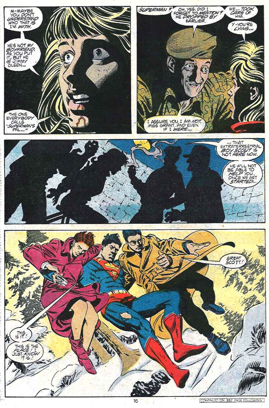 Read online Adventures of Superman (1987) comic -  Issue #439 - 17