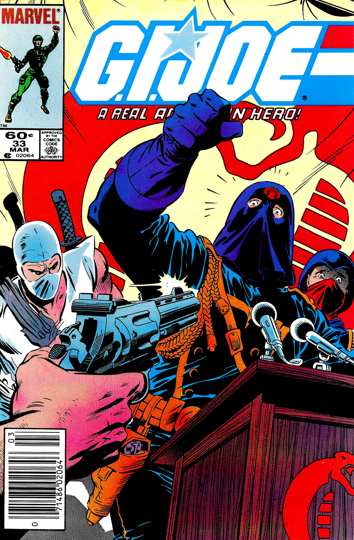 G.I. Joe: A Real American Hero 33 Page 1