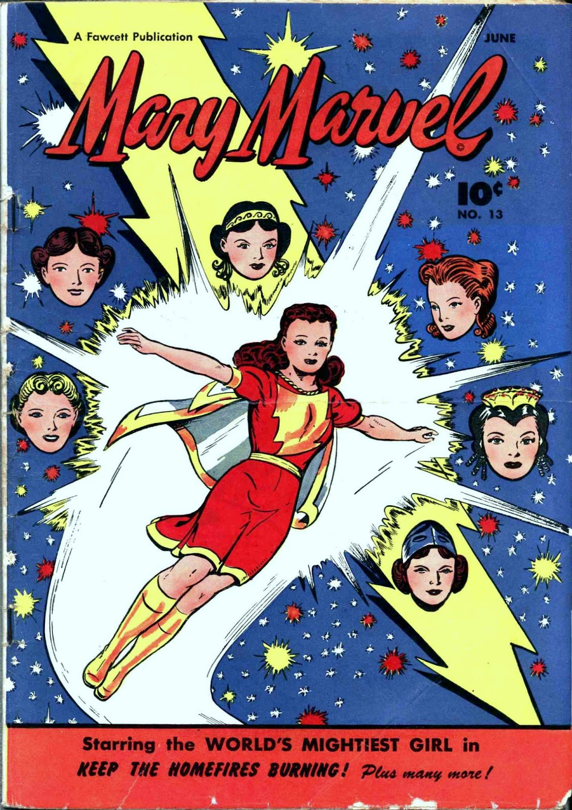 Mary Marvel 13 Page 1