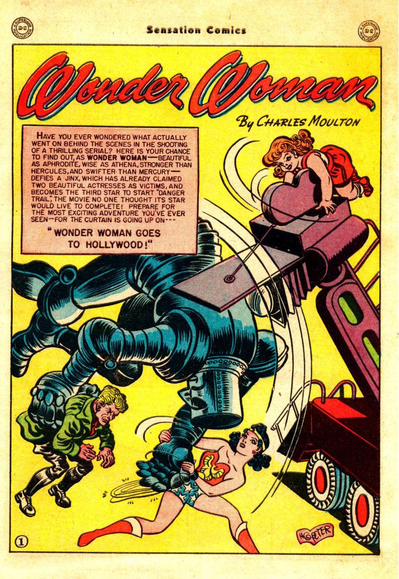 Read online Sensation (Mystery) Comics comic -  Issue #88 - 2