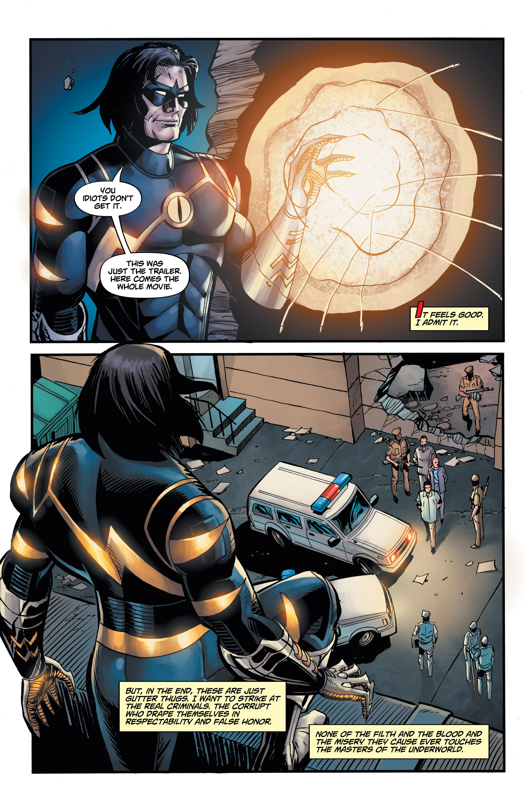 Read online Shadow Tiger comic -  Issue #2 - 5