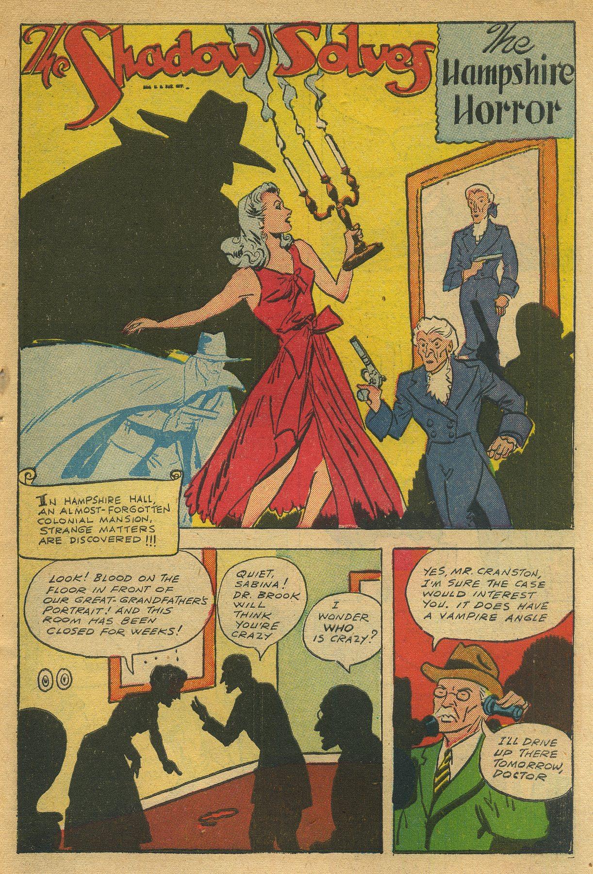 Read online Shadow Comics comic -  Issue #49 - 43