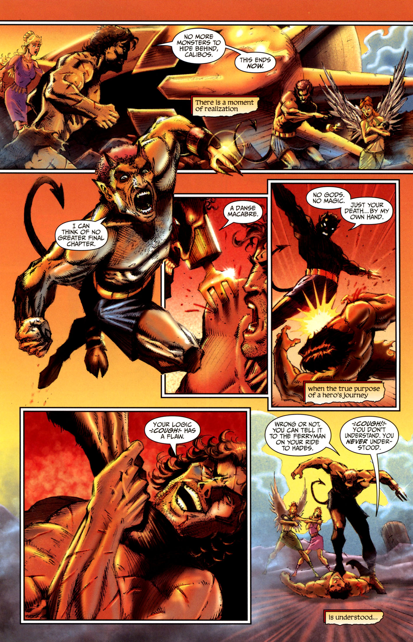 Read online Wrath of the Titans comic -  Issue #4 - 21