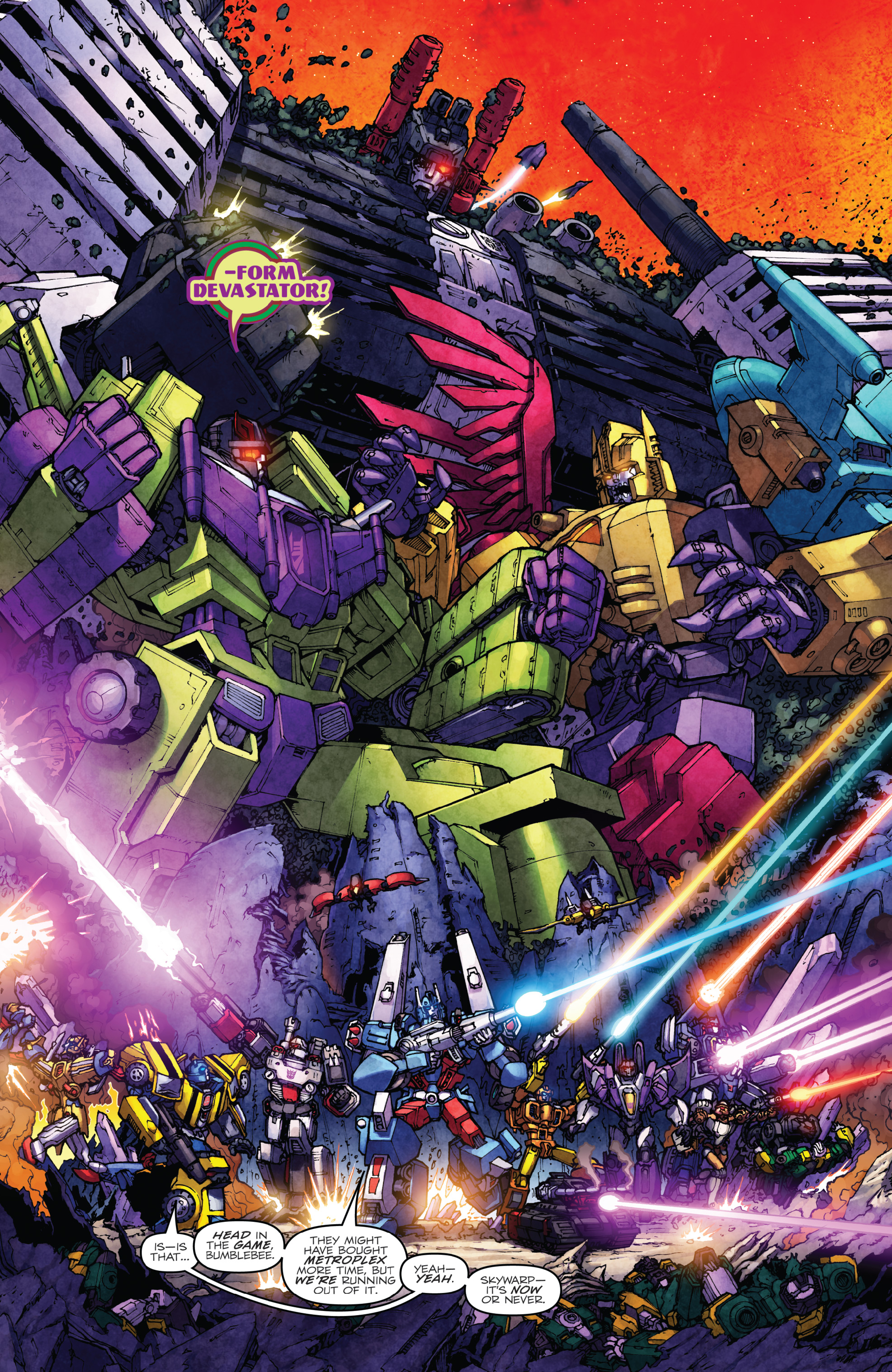 Read online The Transformers: Dark Cybertron Finale comic -  Issue # Full - 113