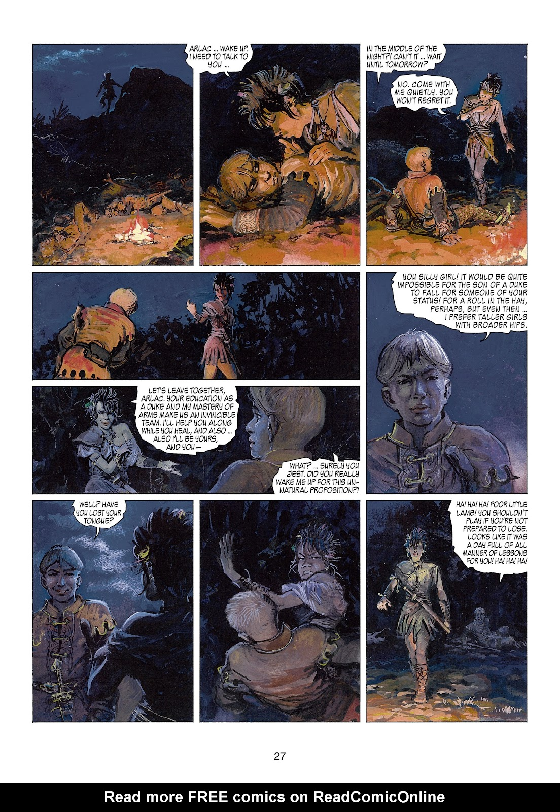 Read online Thorgal comic -  Issue #22 - 29
