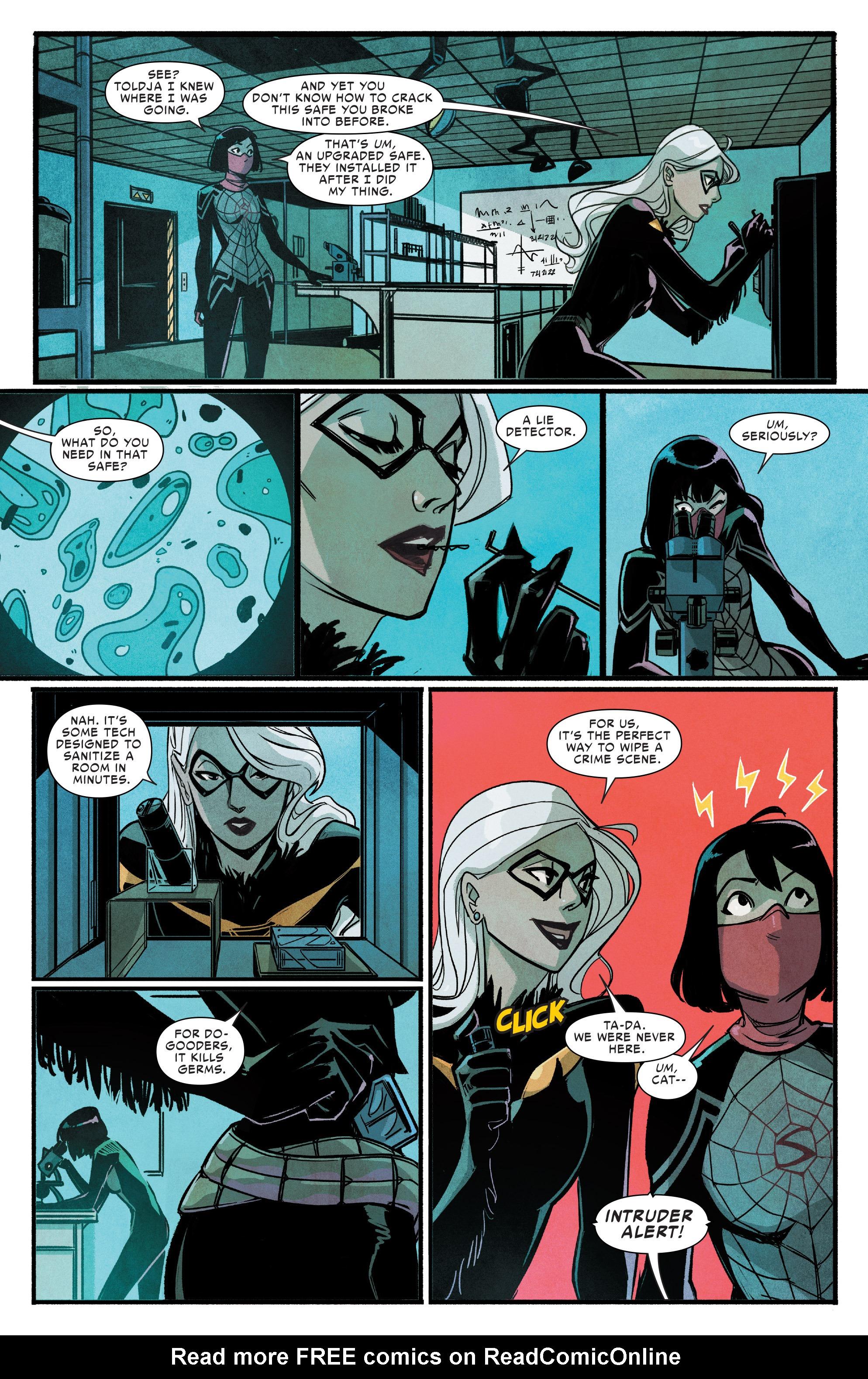 Read online Silk (2016) comic -  Issue #9 - 6