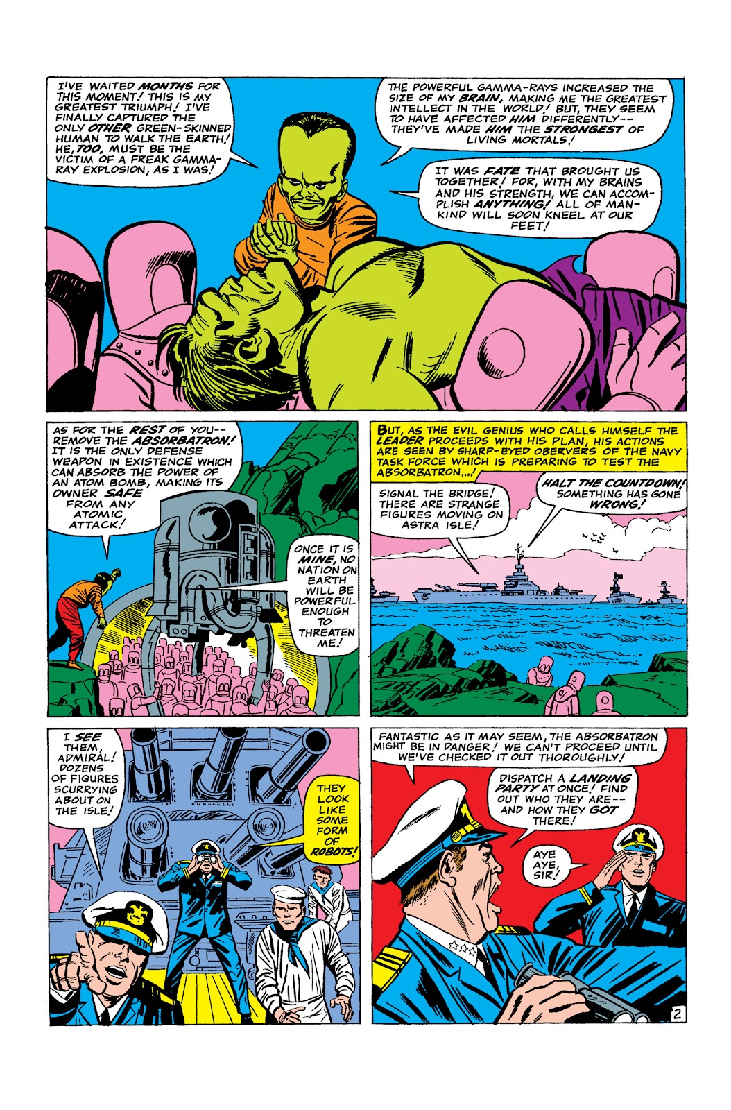 Read online Marvel Masterworks: The Incredible Hulk comic -  Issue # TPB 2 (Part 2) - 25