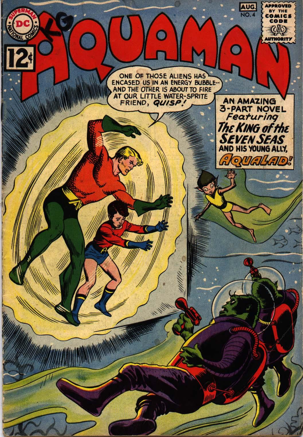 Read online Aquaman (1962) comic -  Issue #4 - 1
