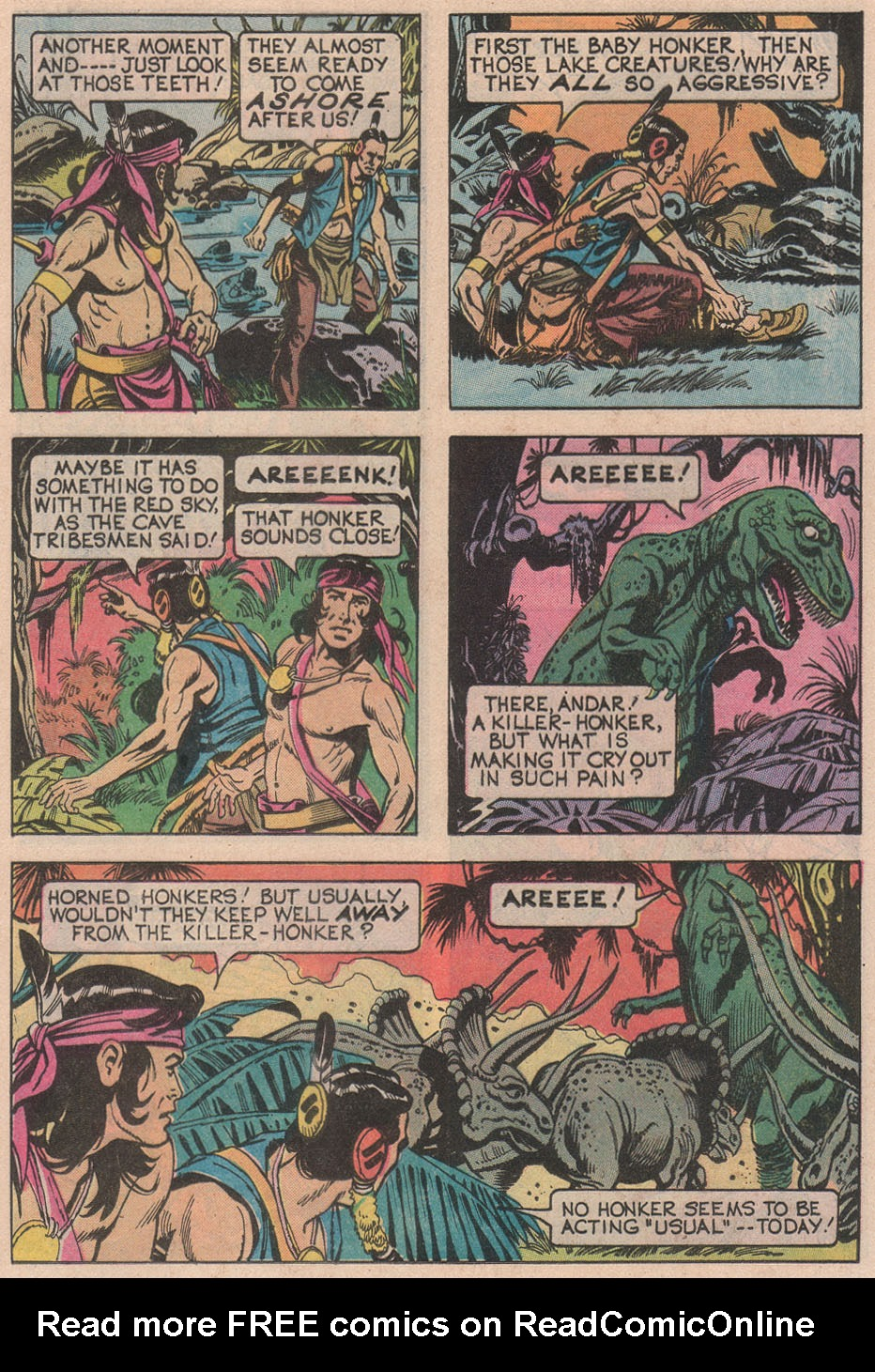 Read online Turok, Son of Stone comic -  Issue #113 - 25