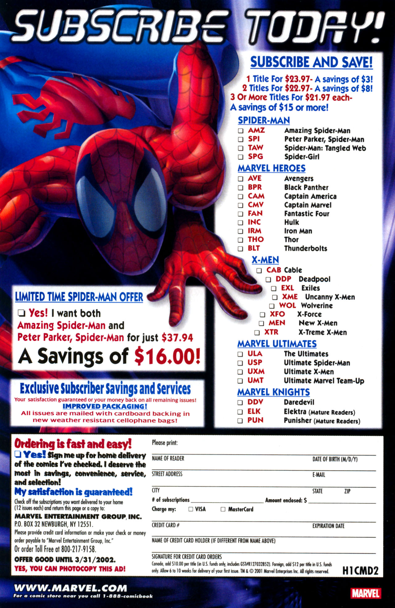 Read online Ultimate Marvel Team-Up comic -  Issue #13 - 33