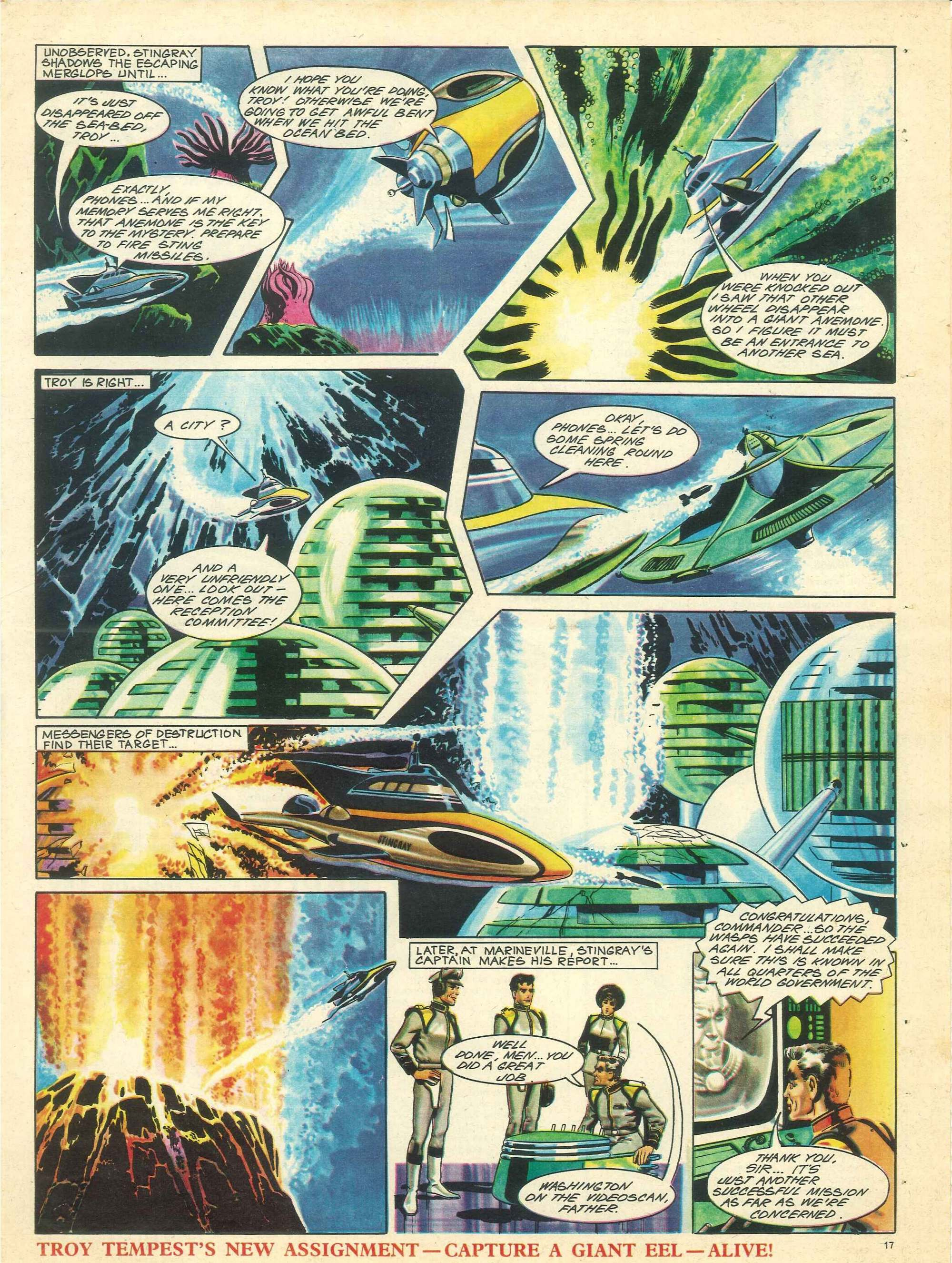 Read online TV Century 21 (TV 21) comic -  Issue #135 - 16