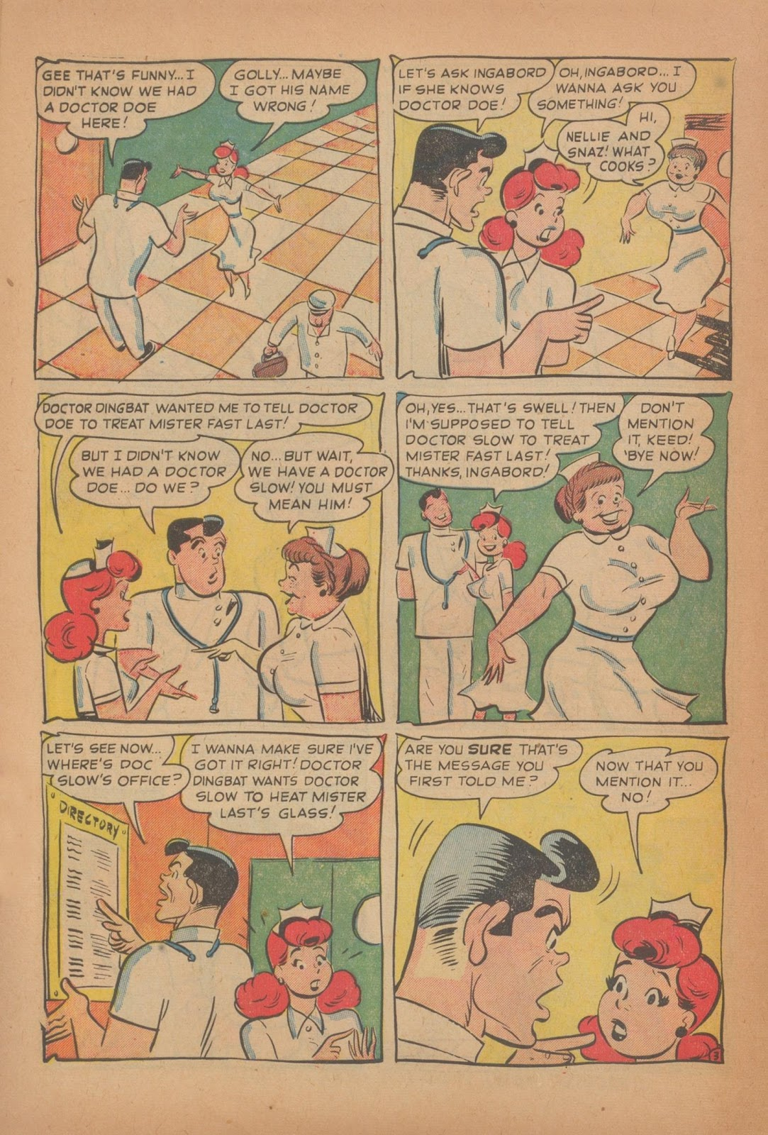 Nellie The Nurse (1945) issue 28 - Page 10