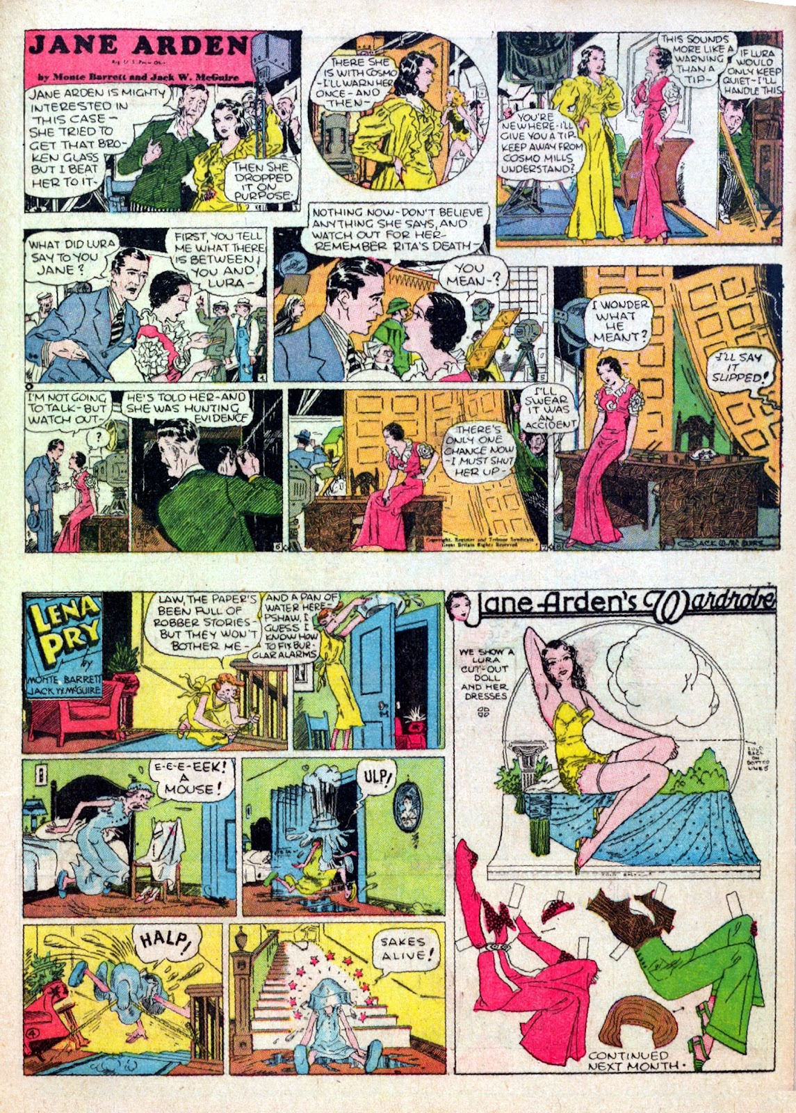Read online Famous Funnies comic -  Issue #15 - 47