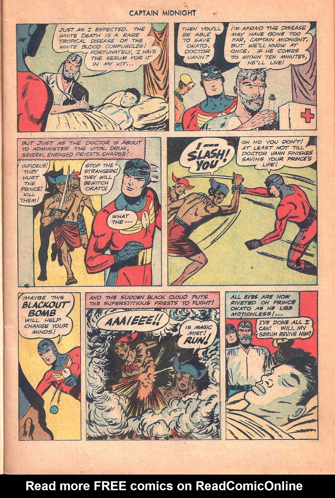 Captain Midnight (1942) issue 53 - Page 11