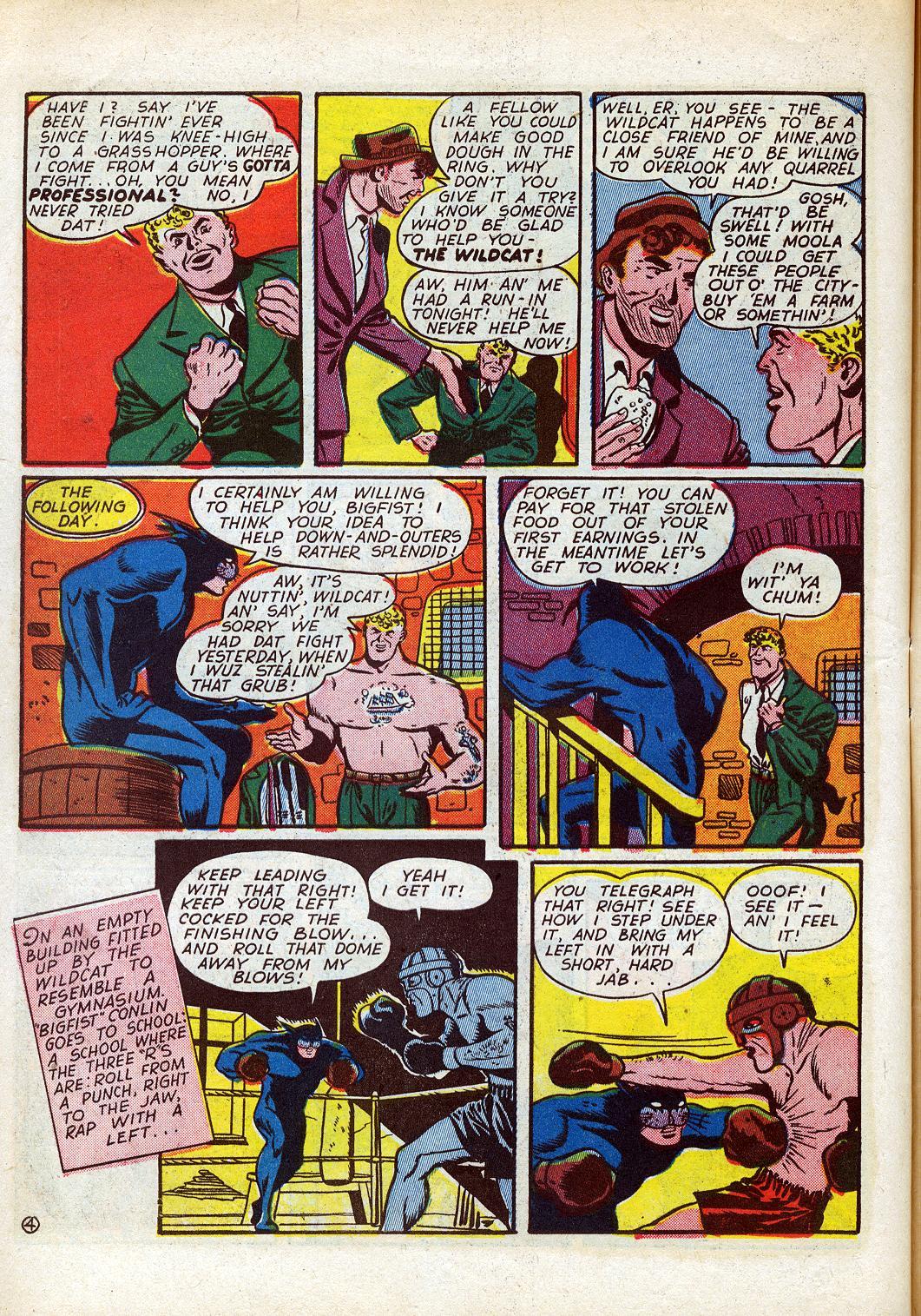 Read online Sensation (Mystery) Comics comic -  Issue #26 - 52