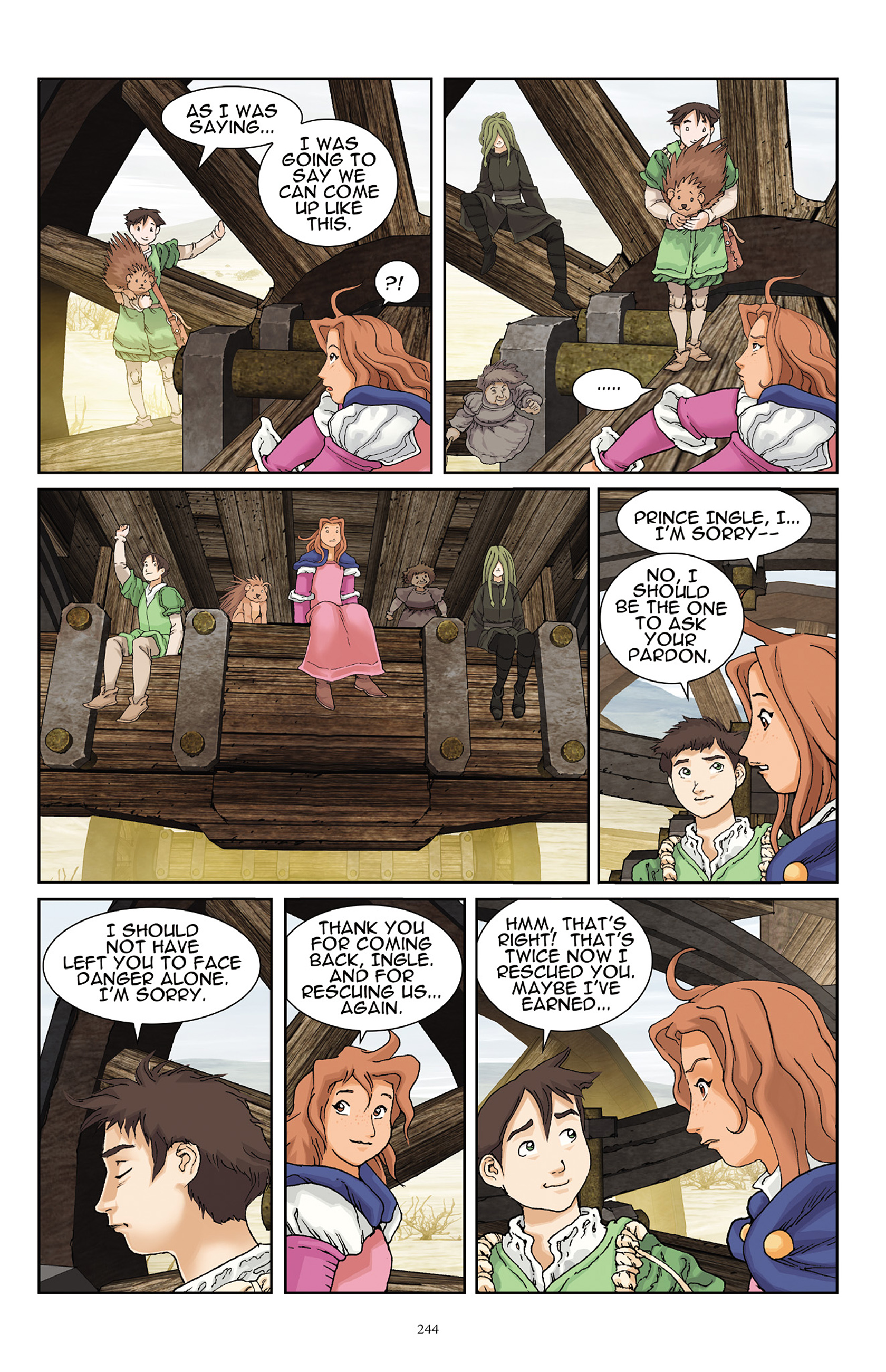 Read online Courageous Princess comic -  Issue # TPB 1 - 239
