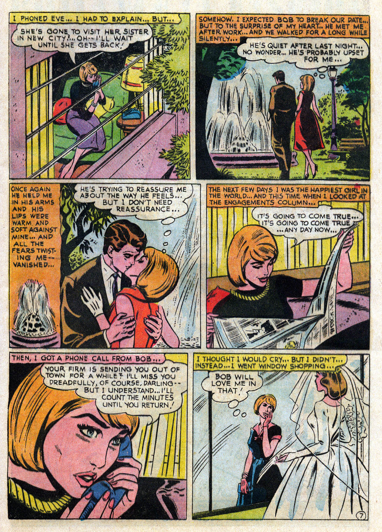 Read online Secret Hearts comic -  Issue #109 - 20