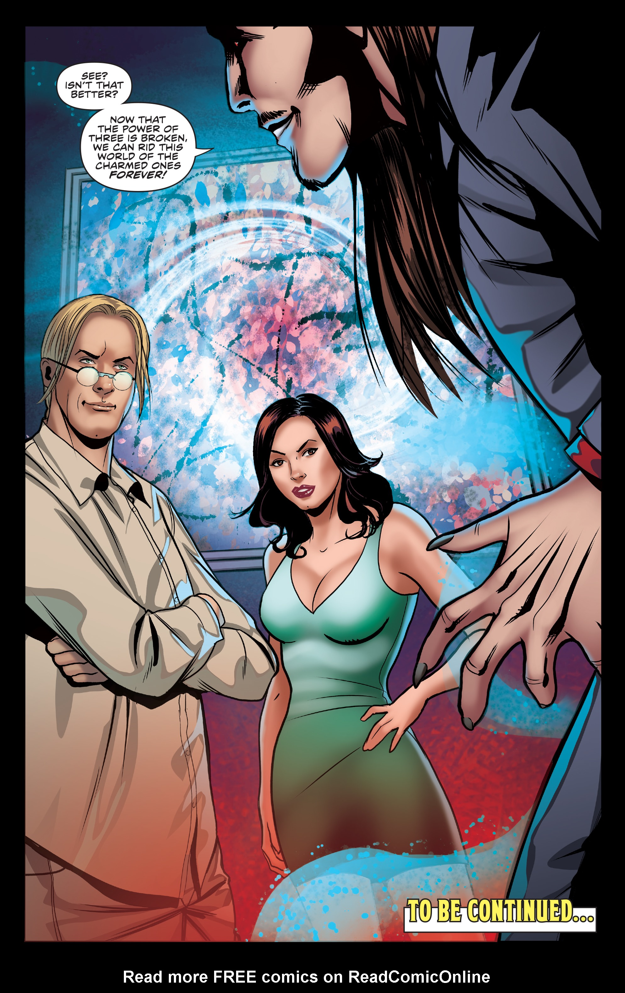 Read online Charmed (2017) comic -  Issue #3 - 26