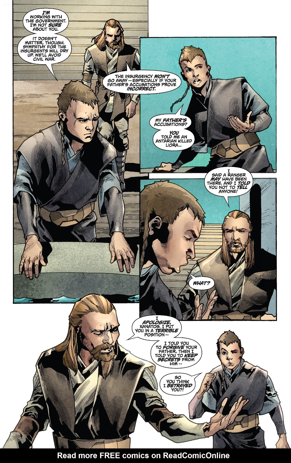 Read online Star Wars Legends: Rise of the Sith - Epic Collection comic -  Issue # TPB 1 (Part 2) - 72
