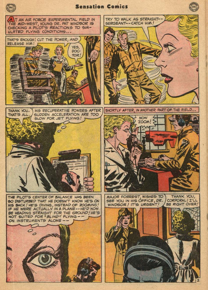 Read online Sensation (Mystery) Comics comic -  Issue #100 - 18