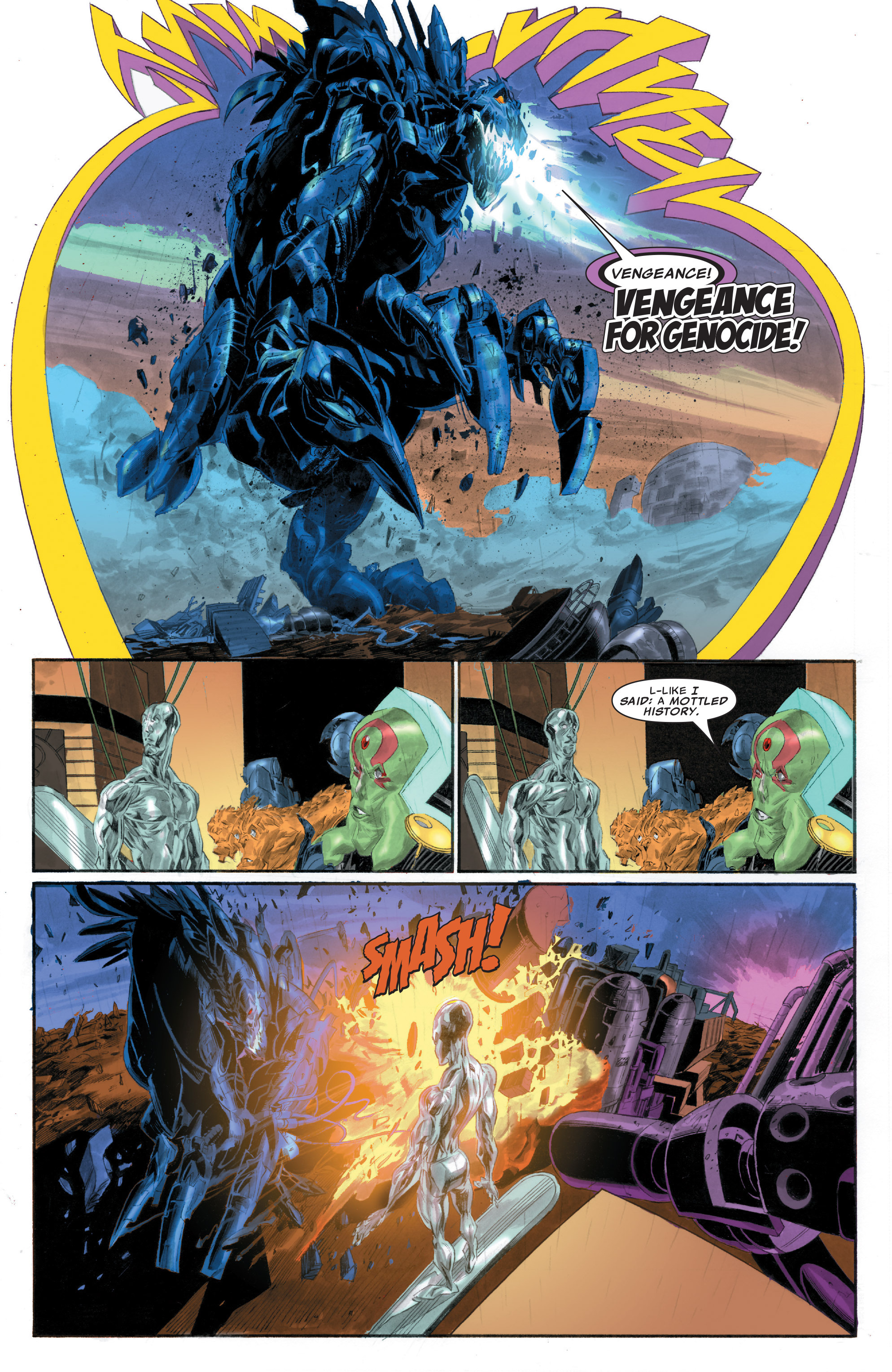 Read online Silver Surfer: In Thy Name comic -  Issue #1 - 21