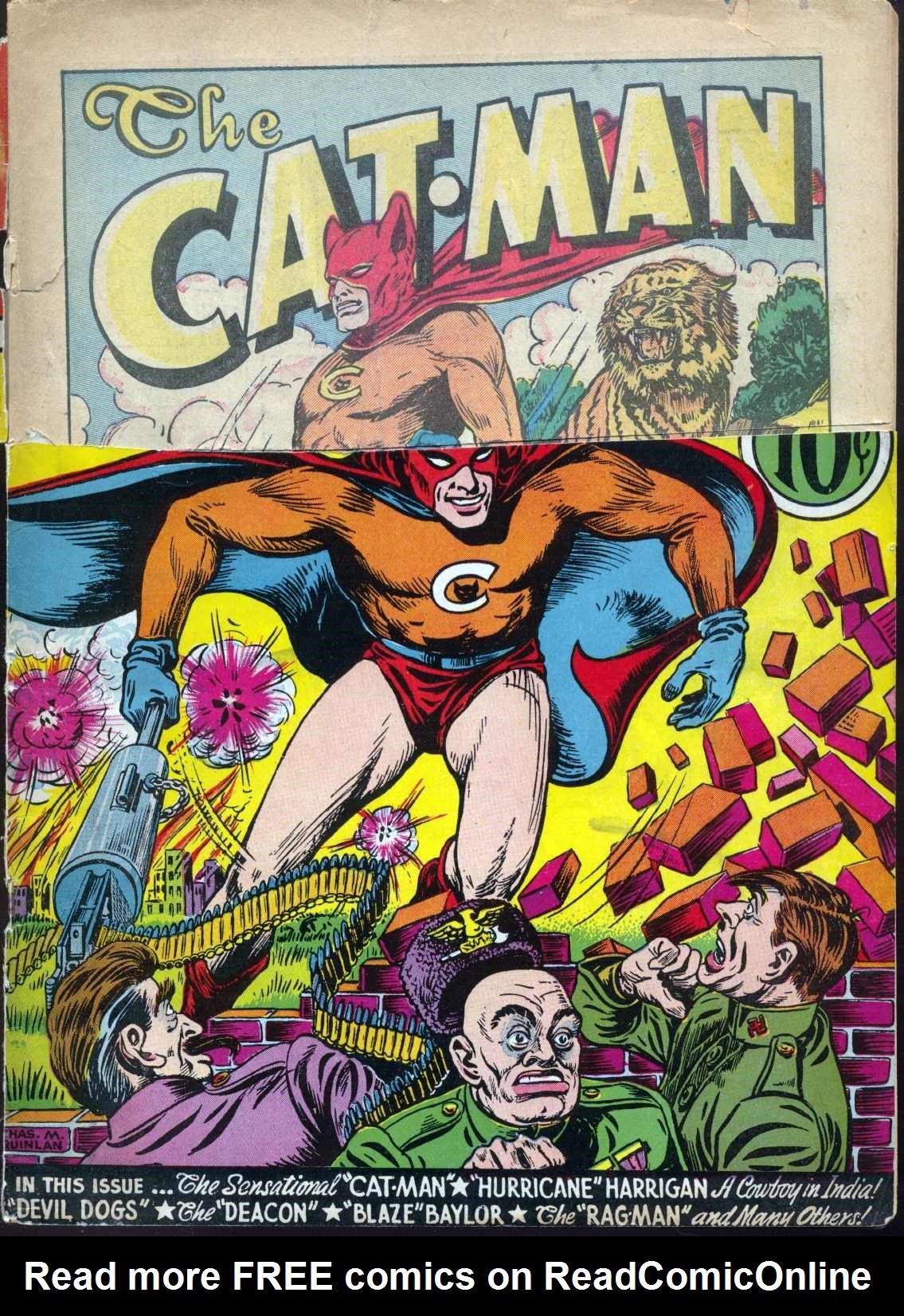 Cat-Man Comics 3 Page 1
