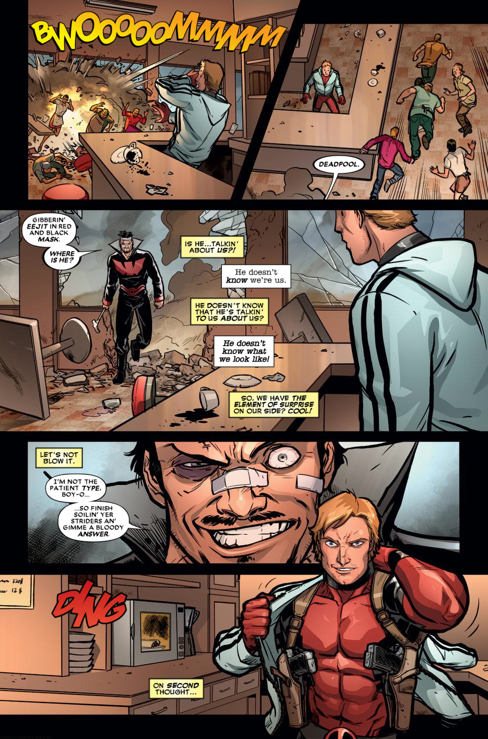 Read online Deadpool (2008) comic -  Issue #59 - 16