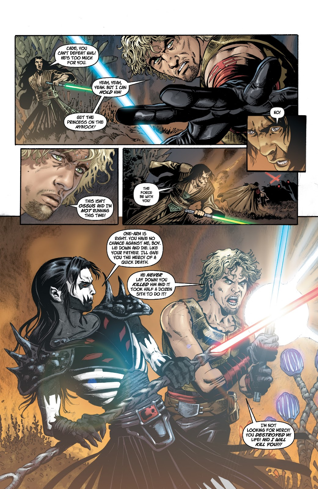 Read online Star Wars Legends: Legacy - Epic Collection comic -  Issue # TPB 1 (Part 2) - 33