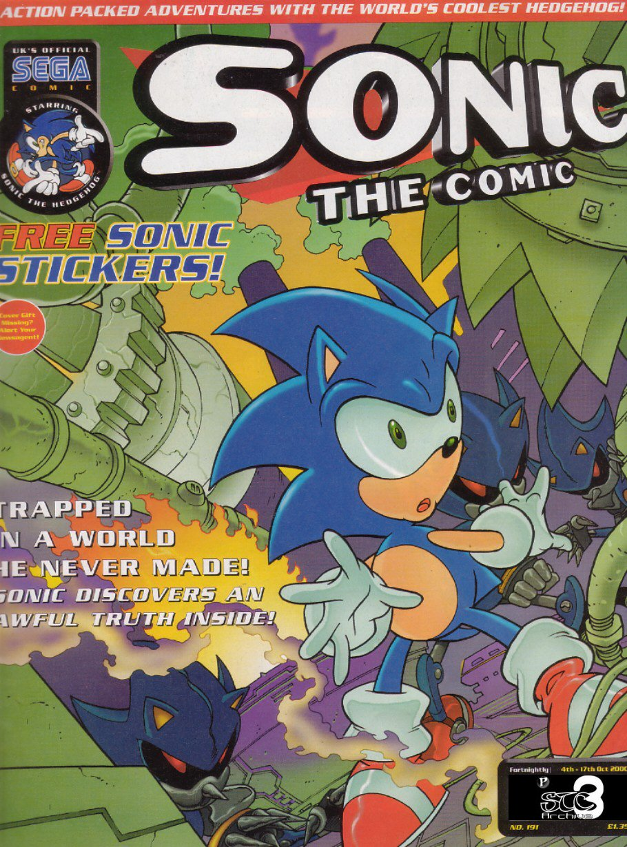 Read online Sonic the Comic comic -  Issue #191 - 1