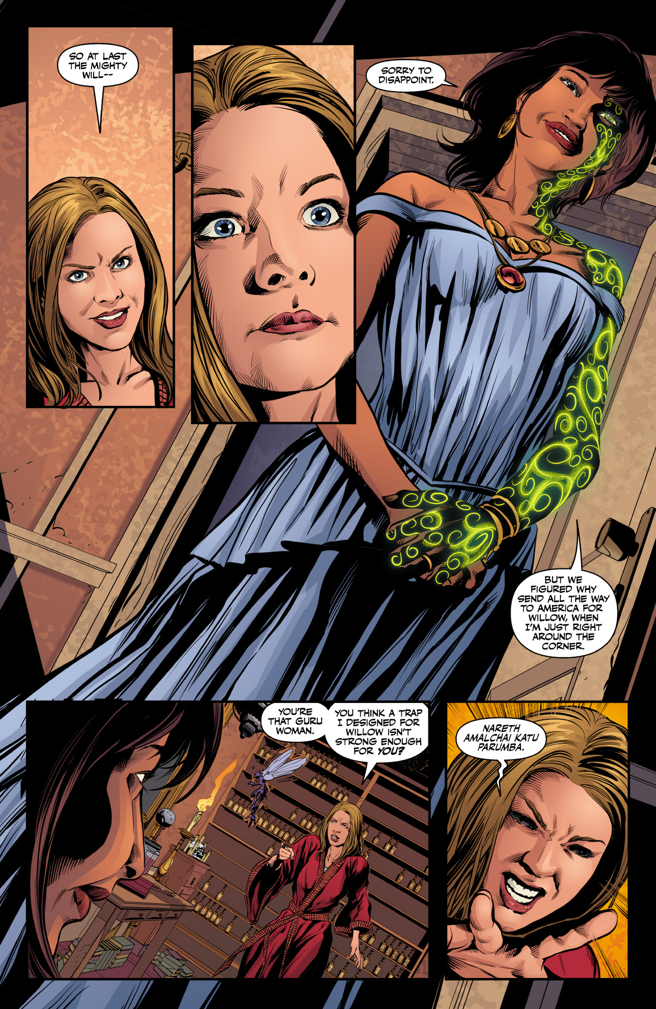 Read online Angel & Faith Season 10 comic -  Issue #10 - 18