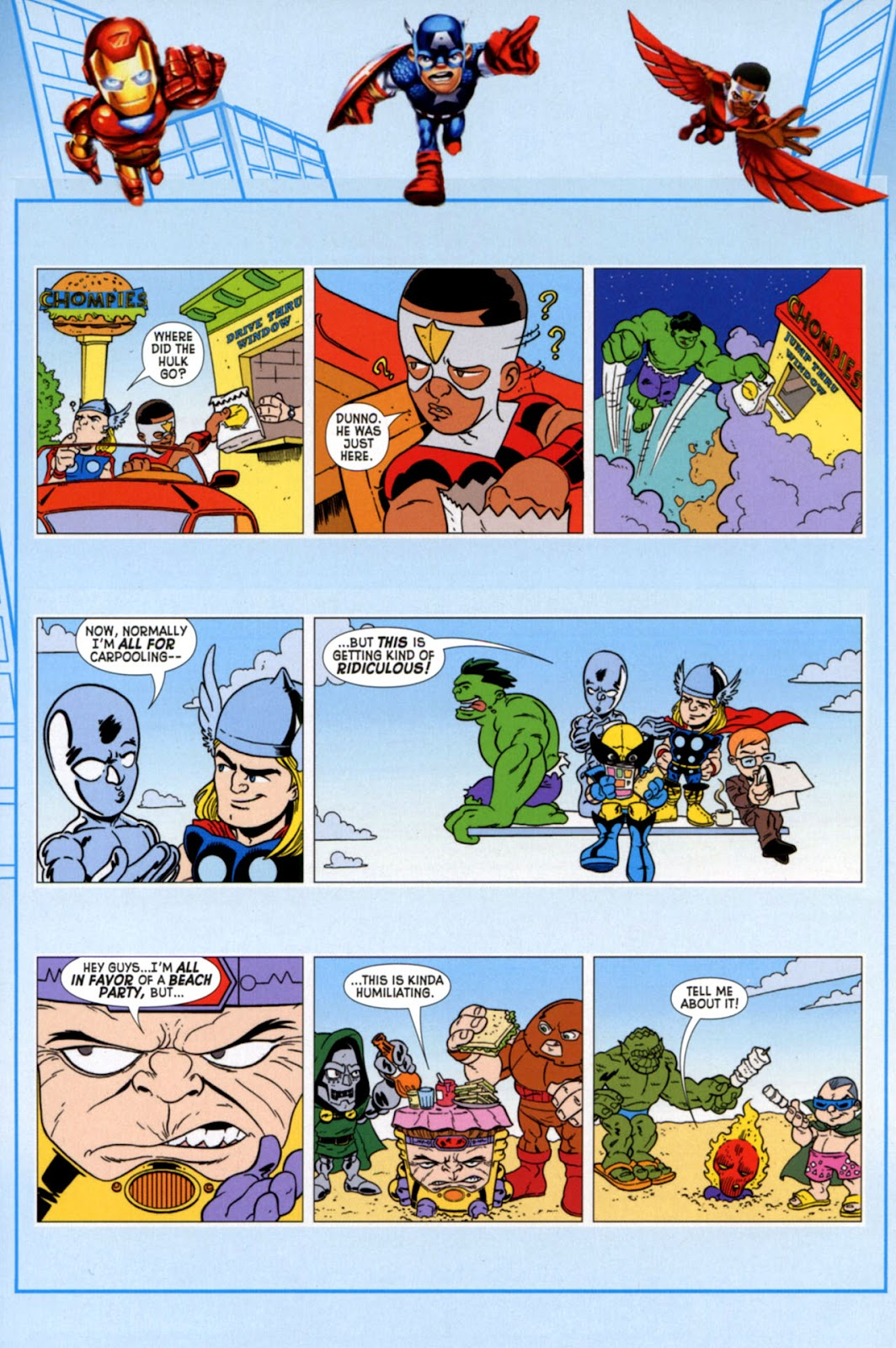 Read online Marvel Super Hero Squad: Hero Up! comic -  Issue # Full - 4