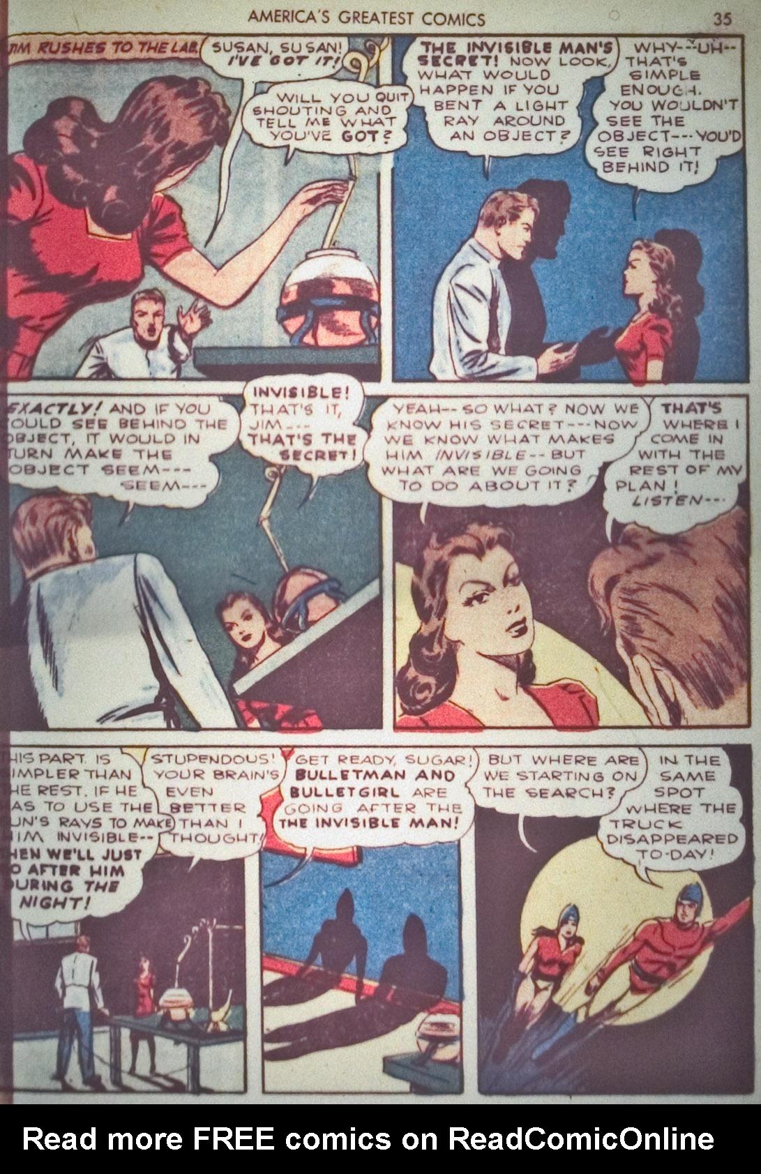 Read online America's Greatest Comics comic -  Issue #1 - 38
